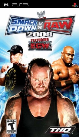 Скачать WWE SmackDown vs. RAW 2008