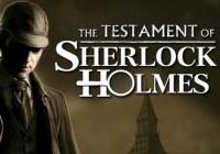 Прохождение игры Testament of Sherlock Holmes, The